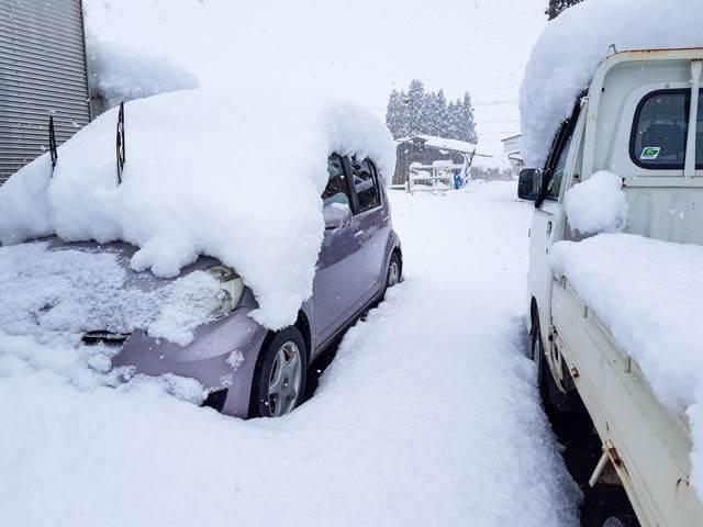 雪よせ(冬)