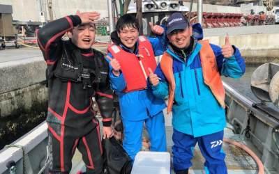 村おこしボランティア【綾里漁場コース】春休みの参加者募集中!