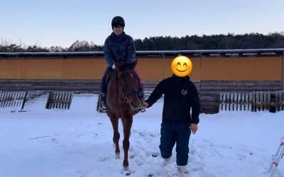 乗馬体験!