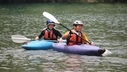 四万十川での自然体験