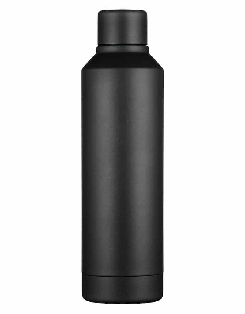 Black Reusable water bottle