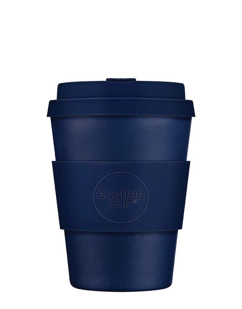 Blue Reusable Coffee Cup medium