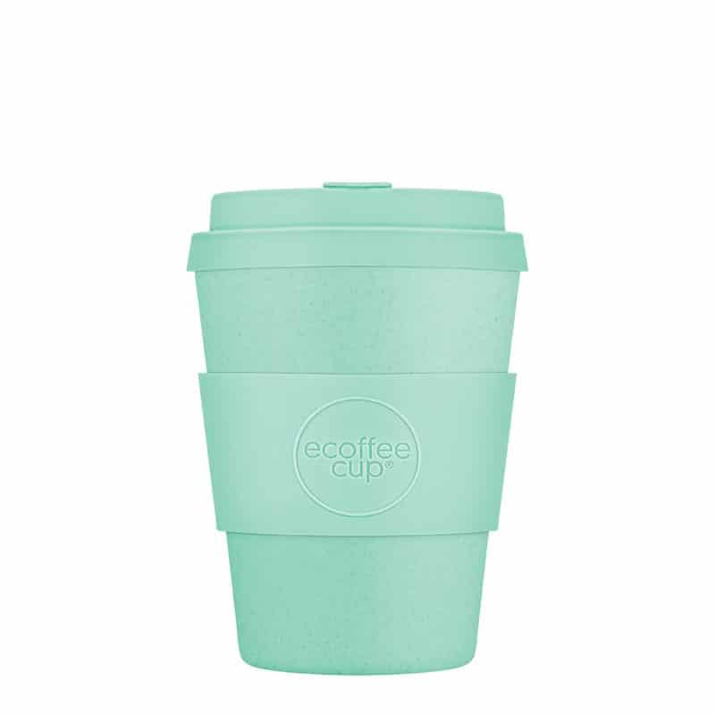sky blue reusable coffee cup