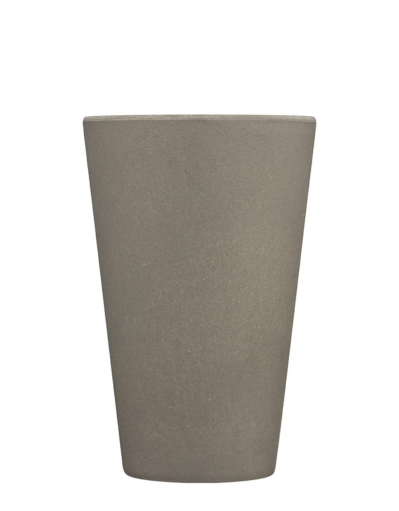 grey reusable coffee cup medium