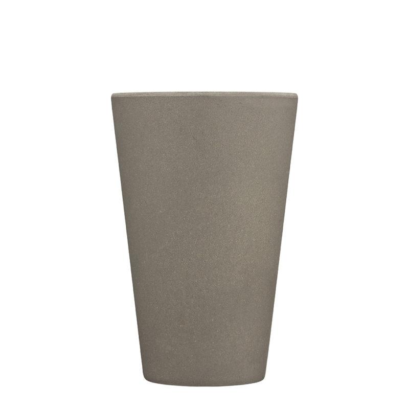 grey reusable coffee cup medium