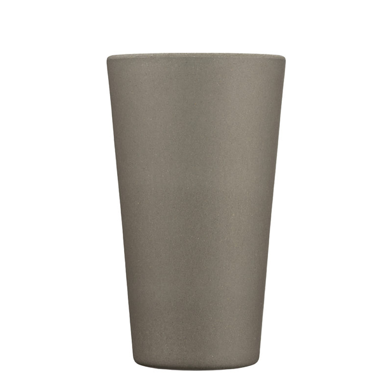 grey reusable coffee cup large