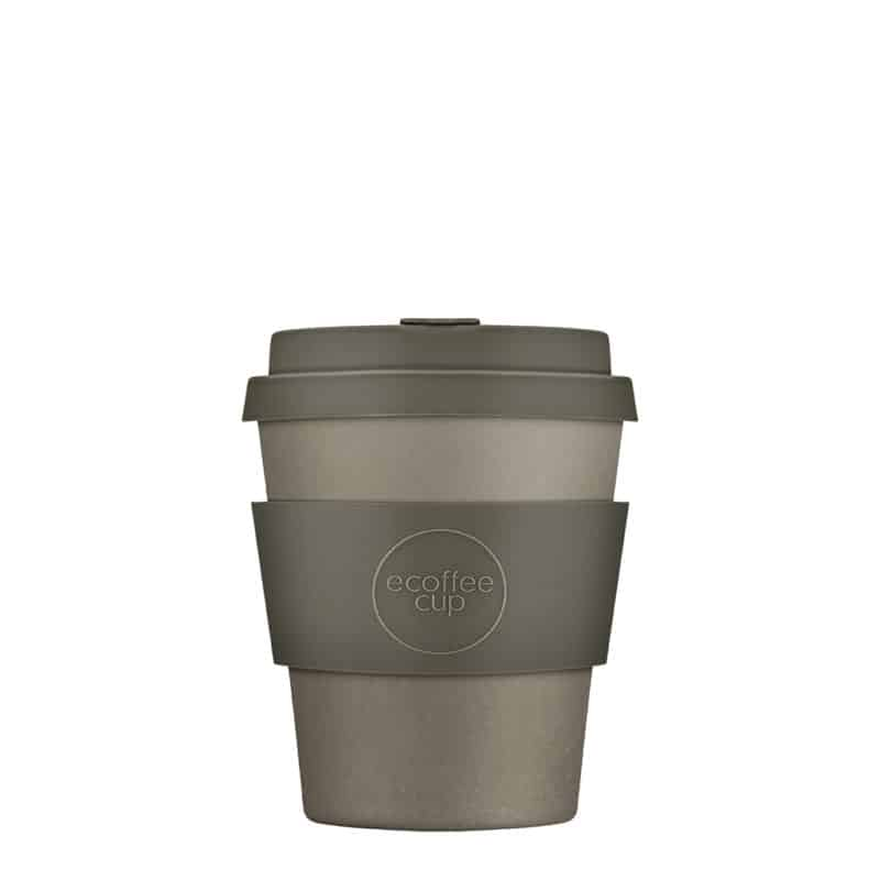 grey reusable coffee cup small
