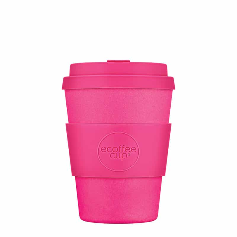 small pink reusable cups
