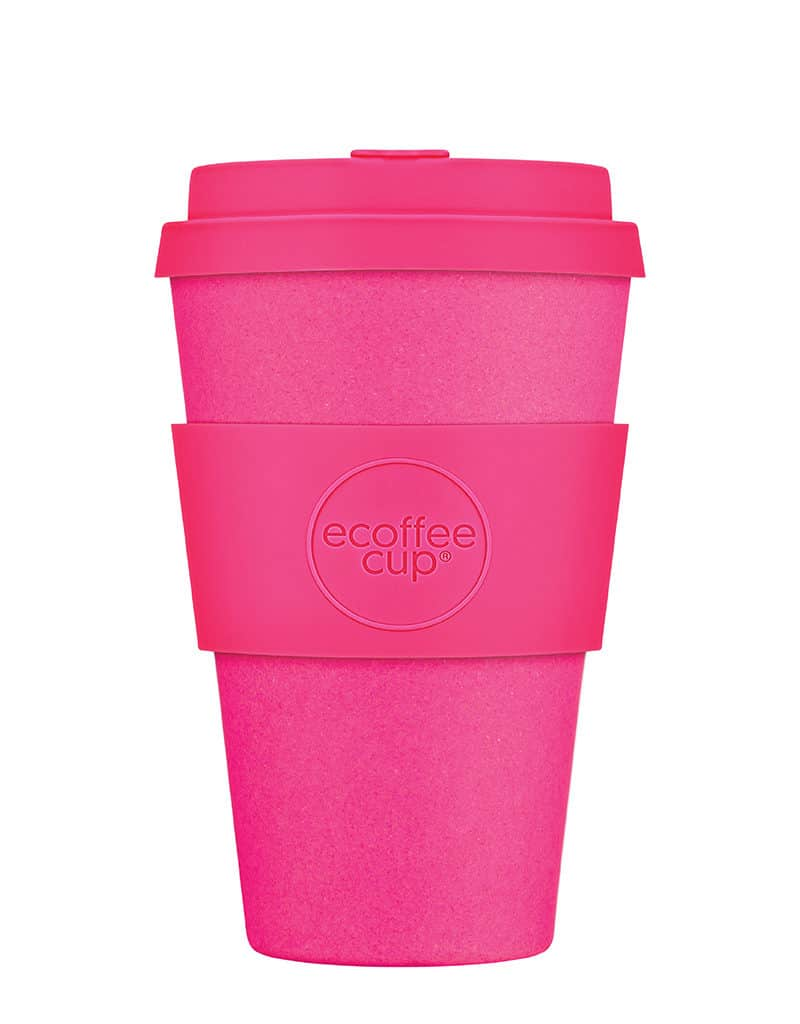 medium pink reusable cups