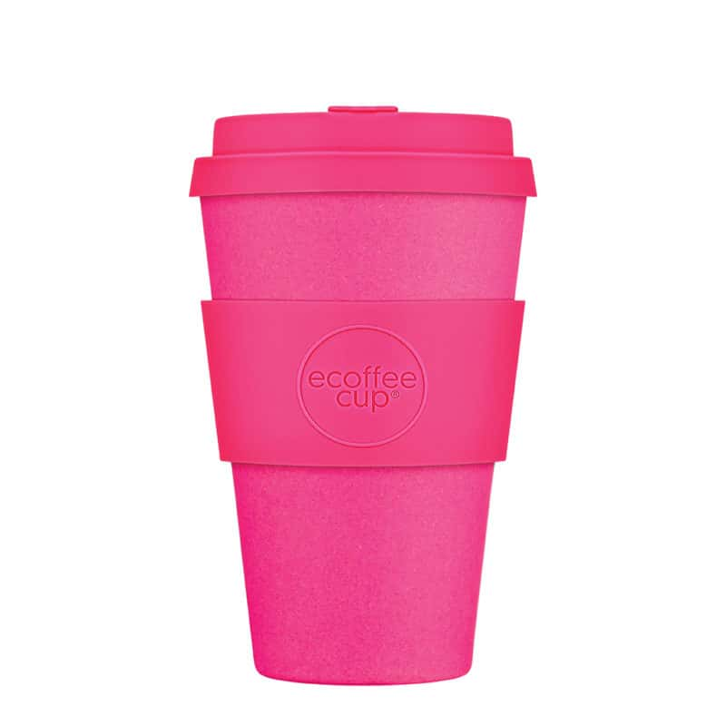 medium pink reusable cups
