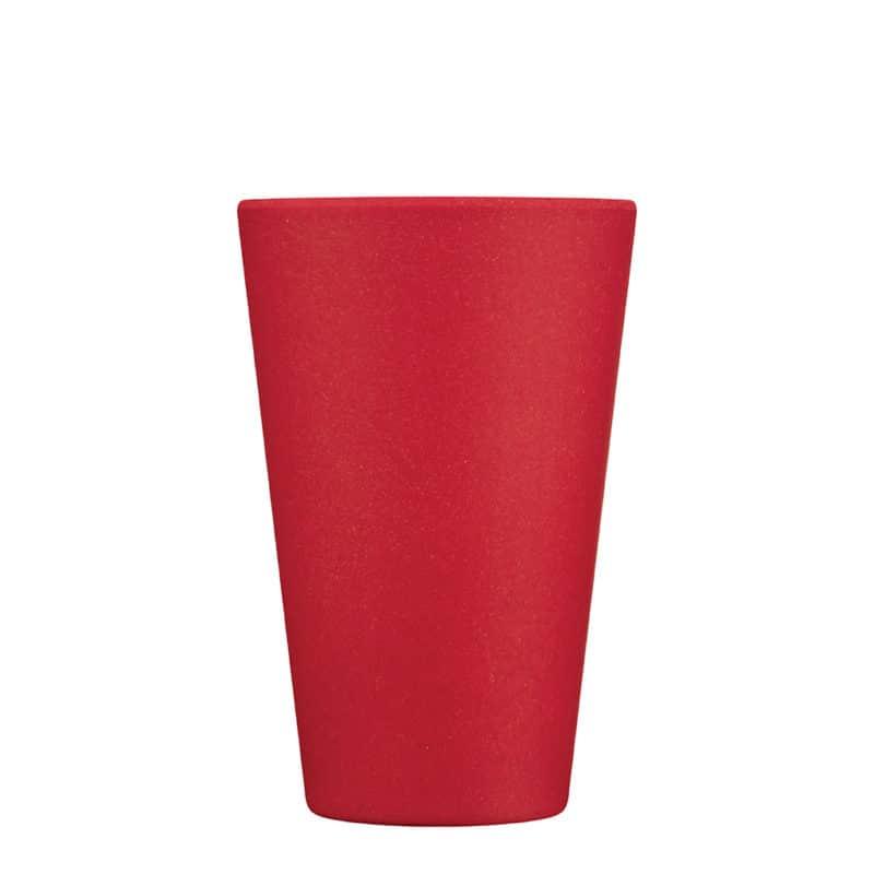 medium red reusable cup