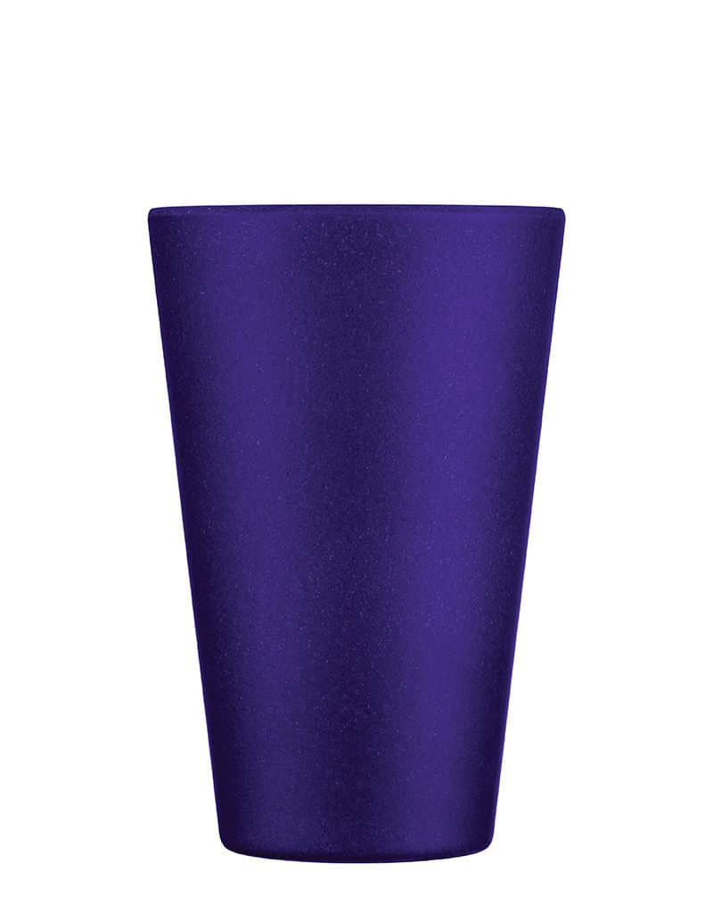 Medium purple reusable coffee cup