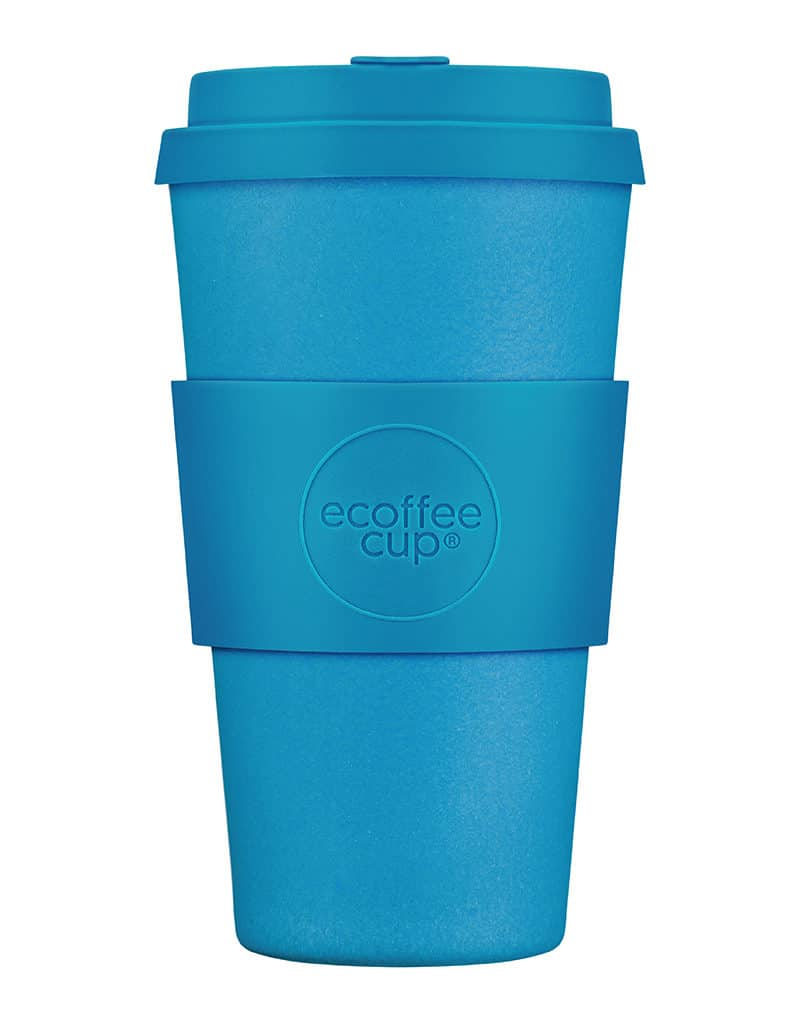 Blue Reusable Coffee Cup