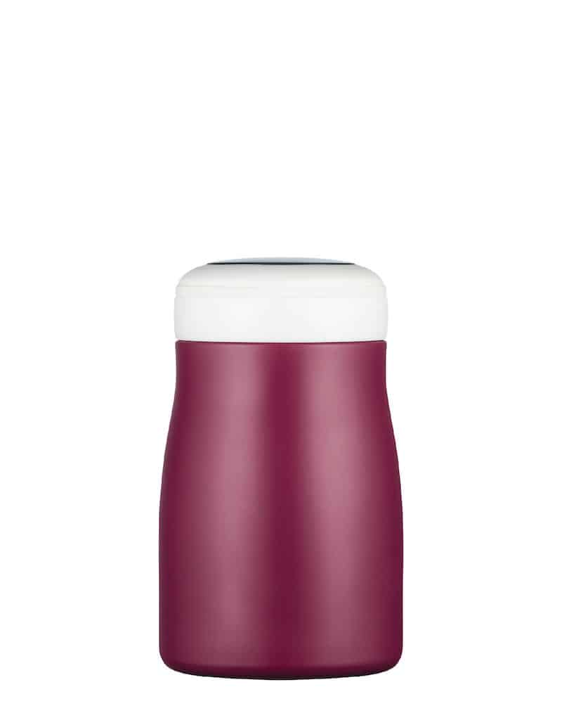red Reusable water bottle