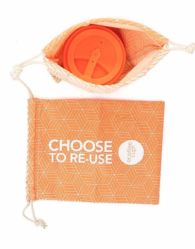 Ecoffee Cup Reusable Drawstring Bag