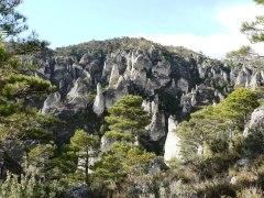 Els Tacóns camino a la Roca Xapada