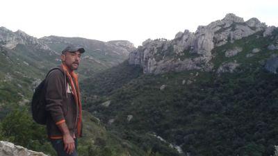 el barranco de Lloret desde el Racó del Moro