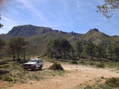 aparcamiento de la Bassa de la Paret