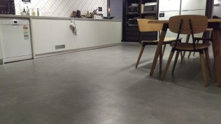 commercial kitchen concrete flooring