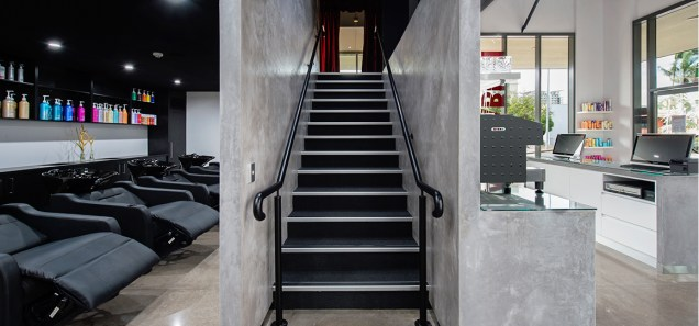 Ecoflor Micro Concrete Stairwell