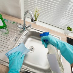 Kitchen Cleaning Faucet Installation Cost Clean The In 15 Minutes Quick Tips