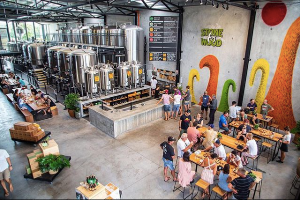 Stone and Wood Brewery Byron Bay