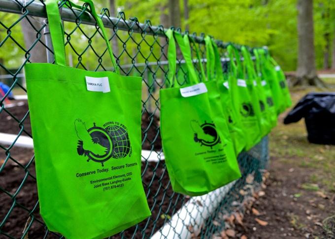 Increase in reusable bags