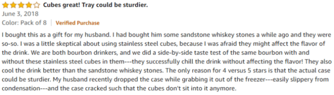 Kollea Stainless steel Review