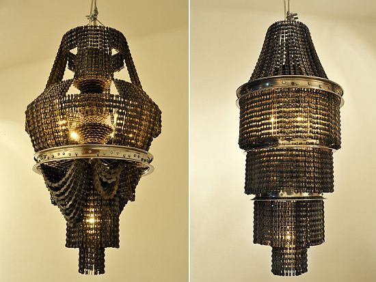 Chandeliers Made From Recycled Materials Bike Chain Lamp 3 Hkibj 69