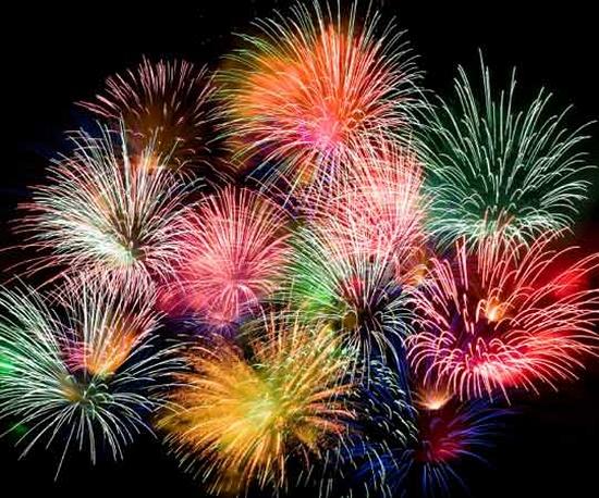 Eco Tech Greener Fireworks Burn Nitrogen And Lots Of