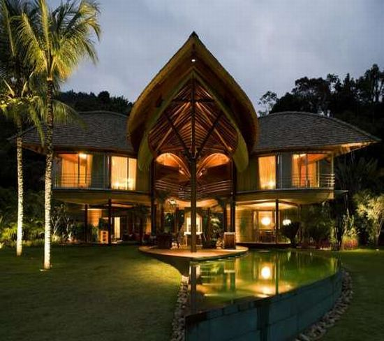 Eco Firendly Architecture: The Leaf House - Aesthetic beauty in harmony with nature - Ecofriend