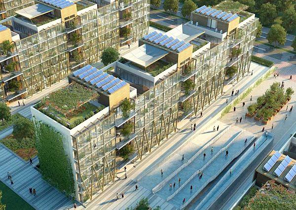 Nanjing Eco Housing An eco friendly  low carbon