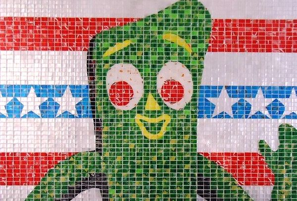: Recycled Soda Can Art