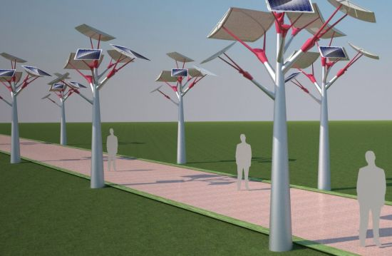 Eco friendly streetlights that show us the green way