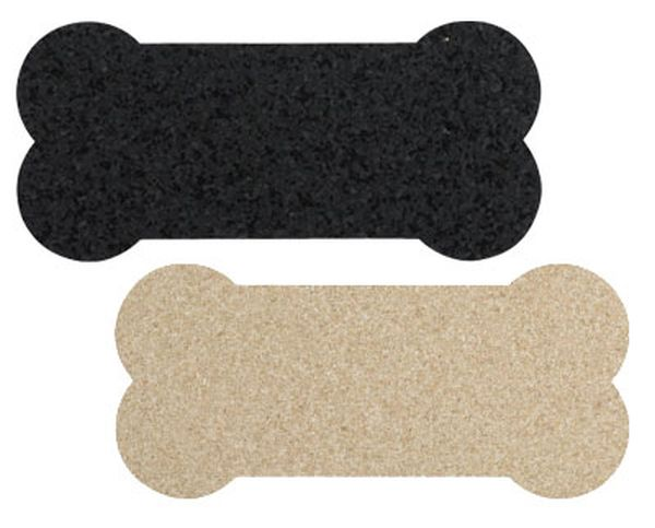 Recycled rubber pet placemat