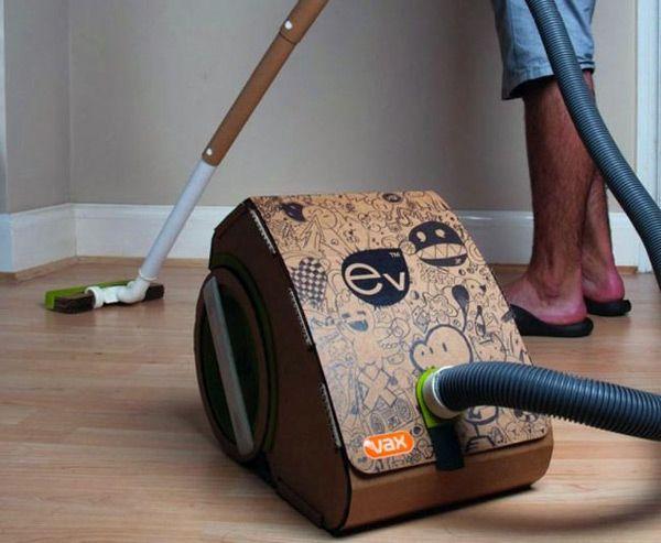 Green Vacuum Cleaner