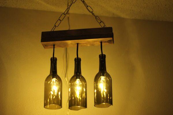 Wine bottles light