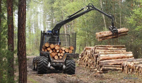 Curbs deforestation