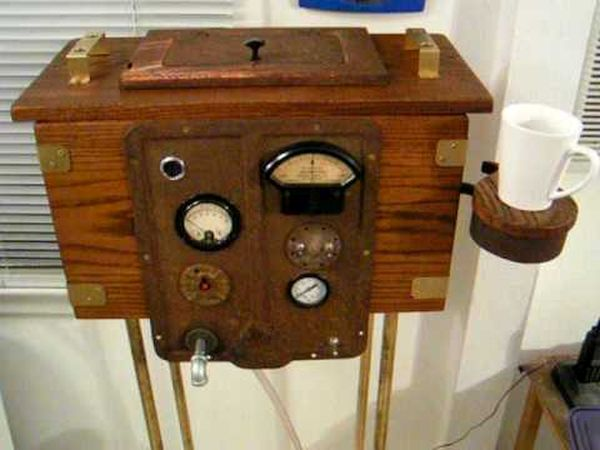 Teslapunk Antique Toilet