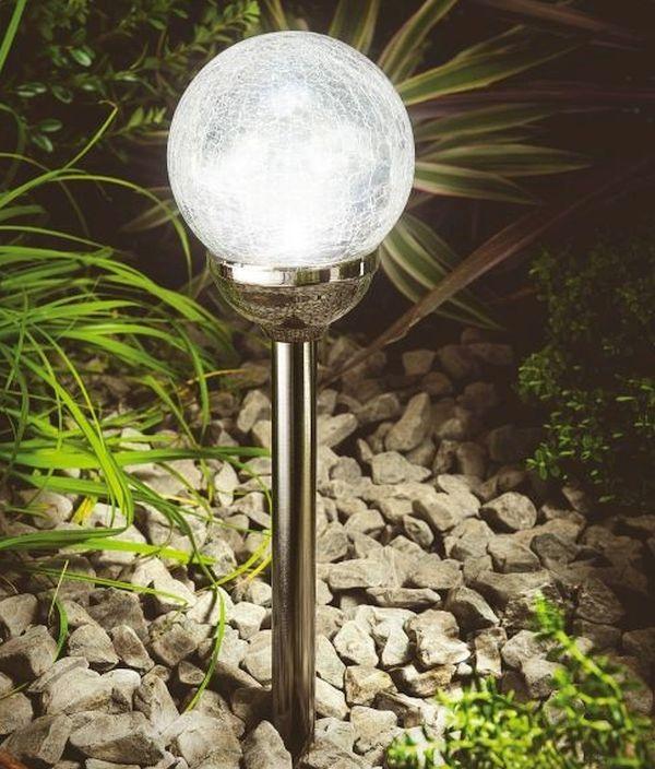 Cole and Bright Solar Ice Orb Border Light