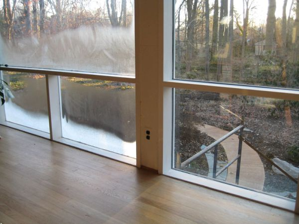 Single-Paned Windows