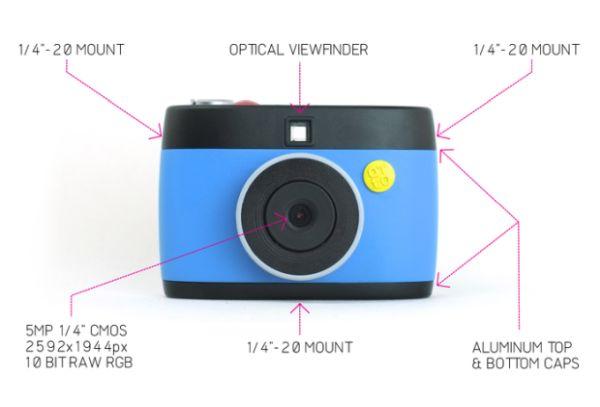 Otto-The hackable GIF camera