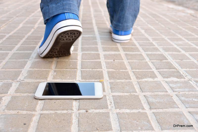 losing my smartphone