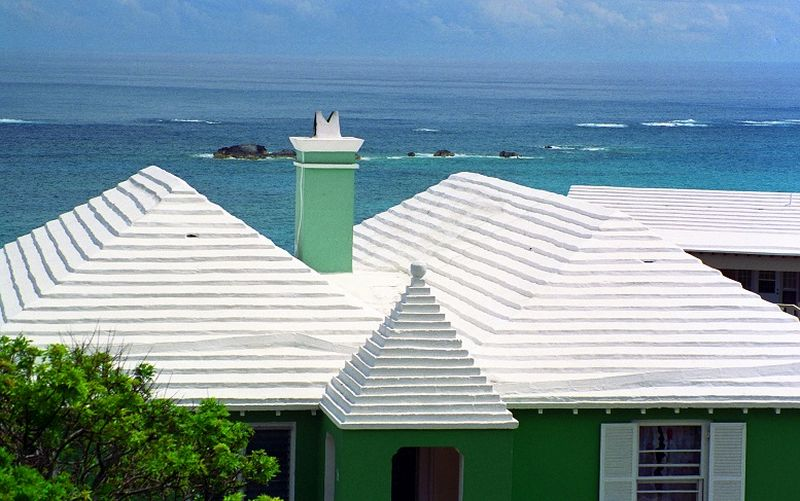 Any White Or Light Colored Roof Is Known As Cool Roof, For It Reflects  Sunrays And Cool Temperature. This Keeps Home Interior Cooler And Hence, ...