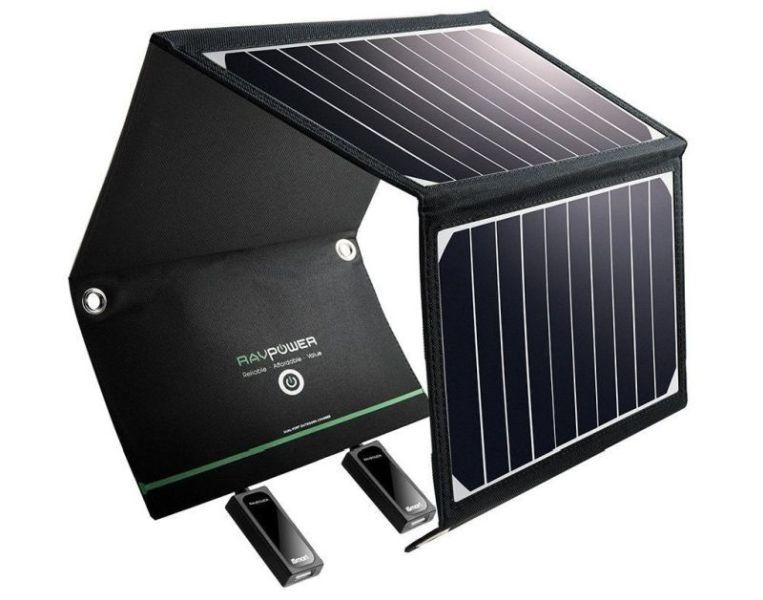 RAV Power 16W Solar phone charger