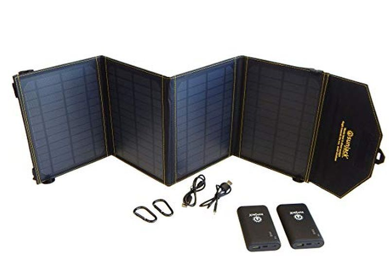 SunJack 20W Solar Charger Power Bank