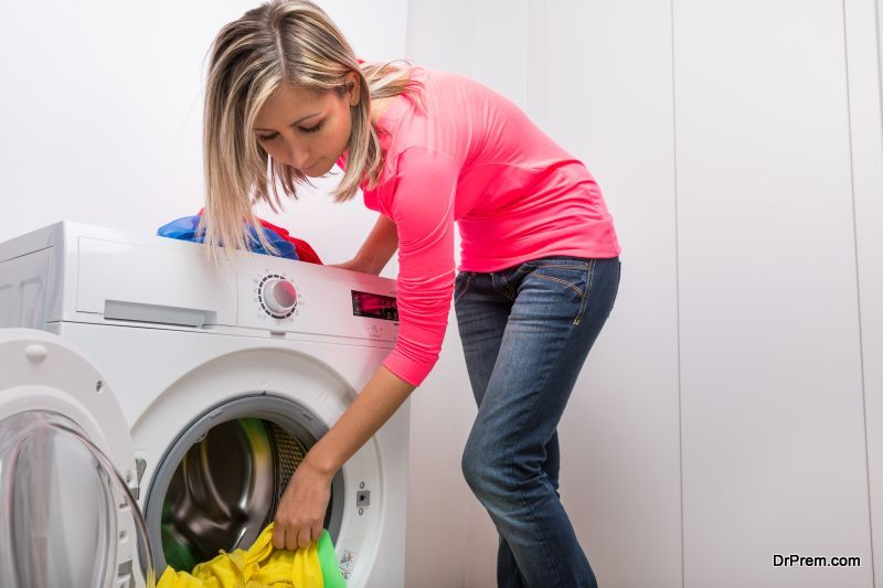 Use the washing machine