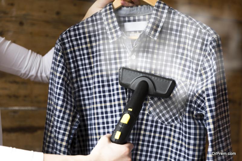 Get a clothes steamer