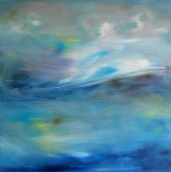 Ascension Original Abstract Eco-friendly Oil Painting