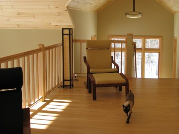 Bamboo works great for cottages